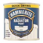 Hammerite Quick Dry Radiator Enamel White 500ml